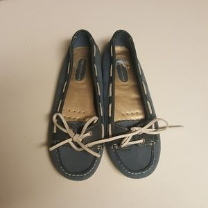 Rockport casual flats / loafers - blue size 6.5